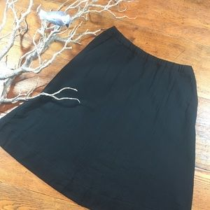 Eileen Fisher organic cotton skirt